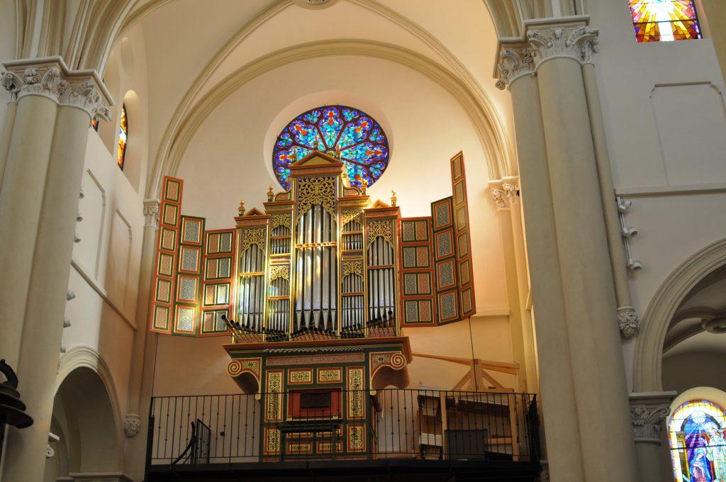Orgue espagnol de l'église saint martin
