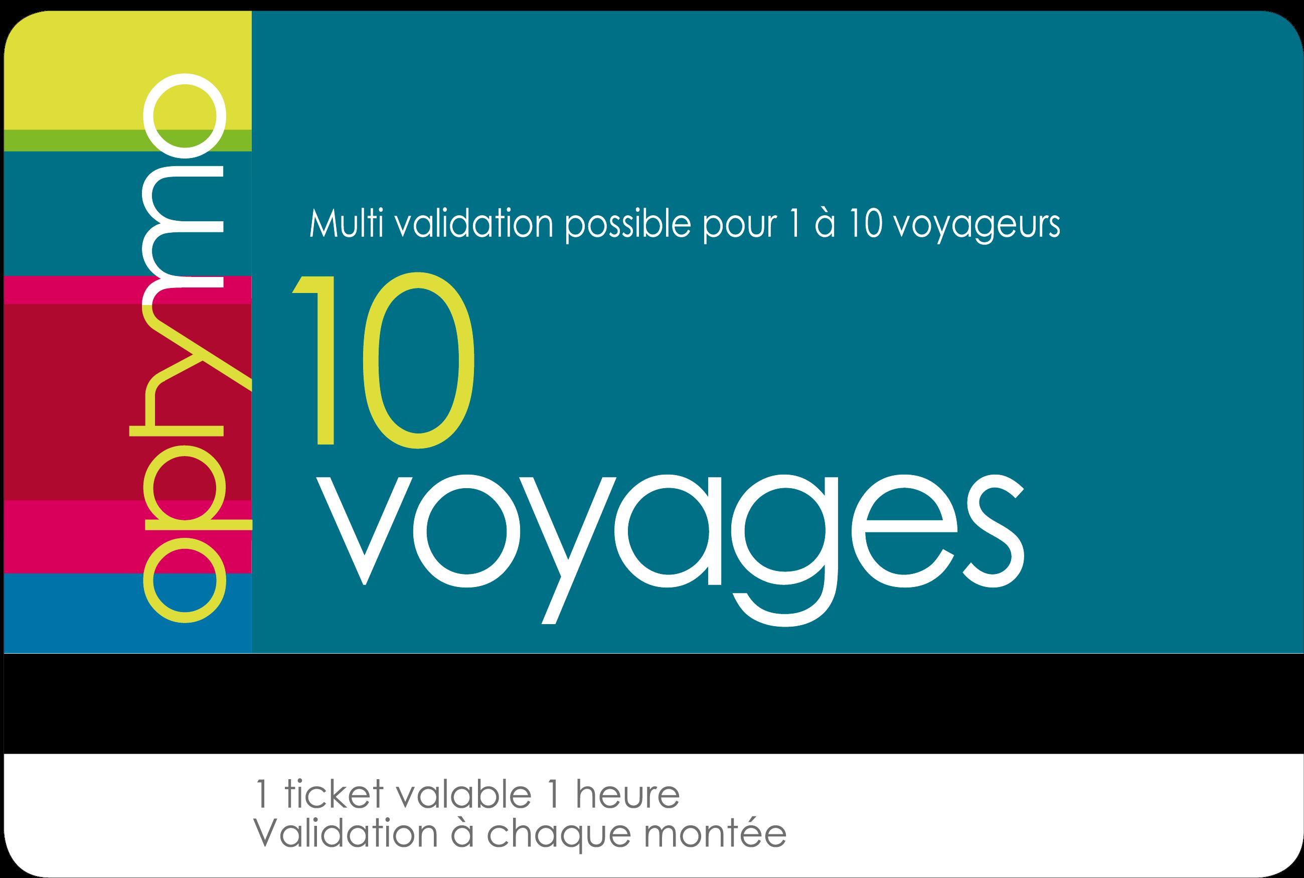 carnet 10 voyage